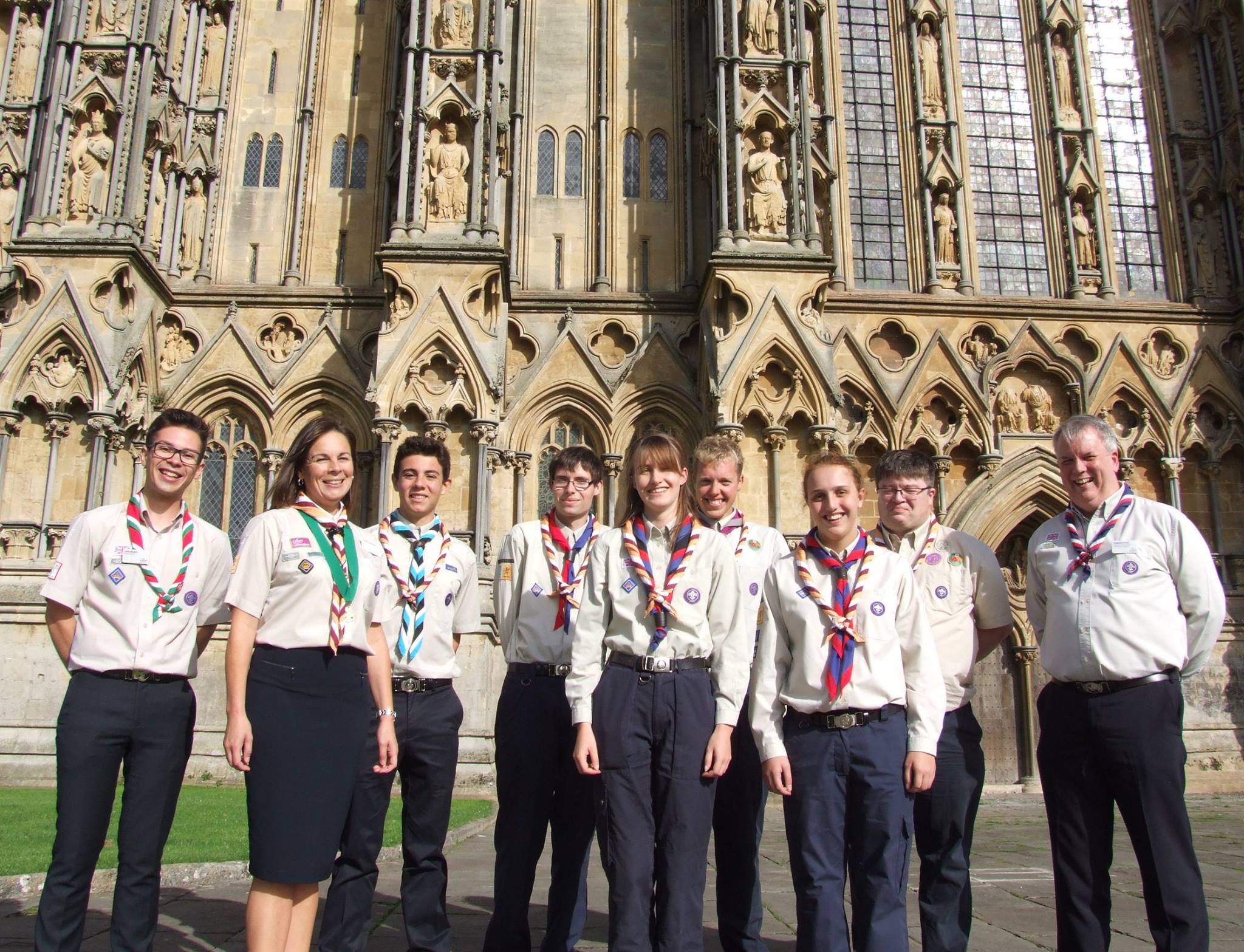 Somerset Queen's Scouts 2016